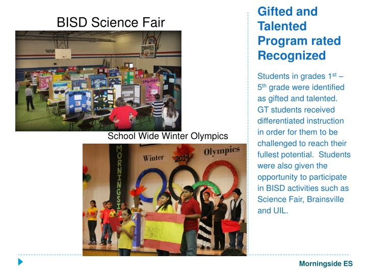 BISD Science Fair