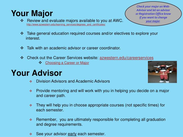 Your Major