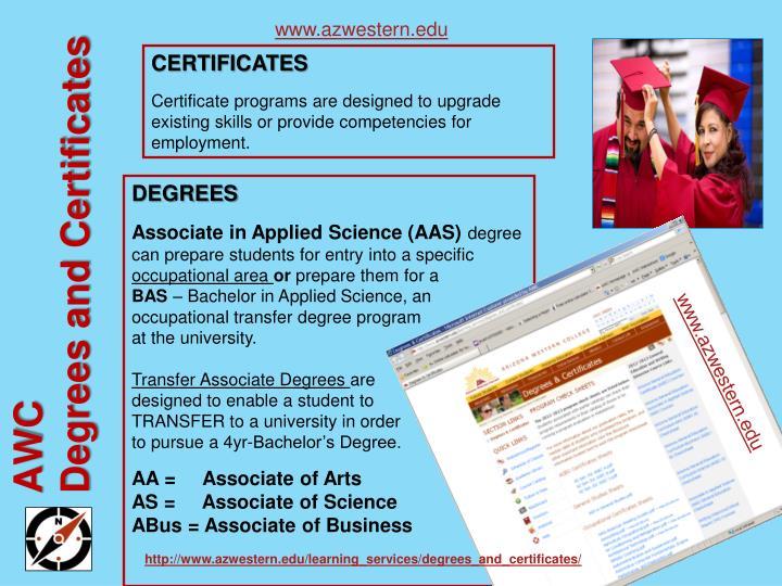 www.azwestern.edu