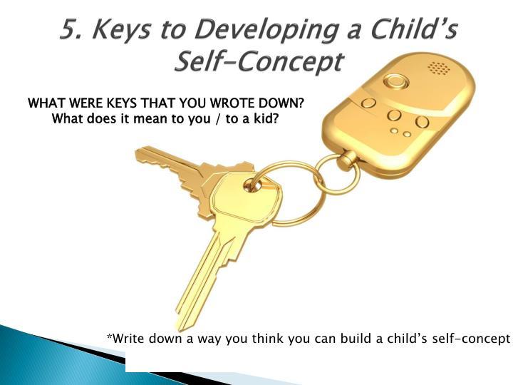 5. Keys