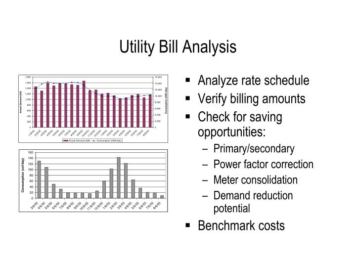 Utility Bill Analysis