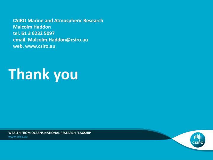CSIRO Marine and Atmospheric Research