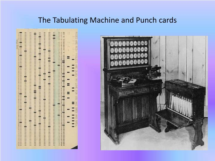 The Tabulating Machine