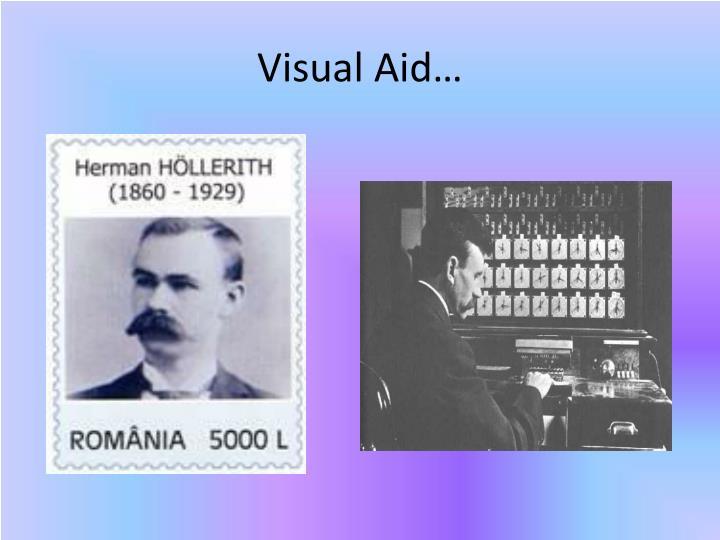 Visual Aid…