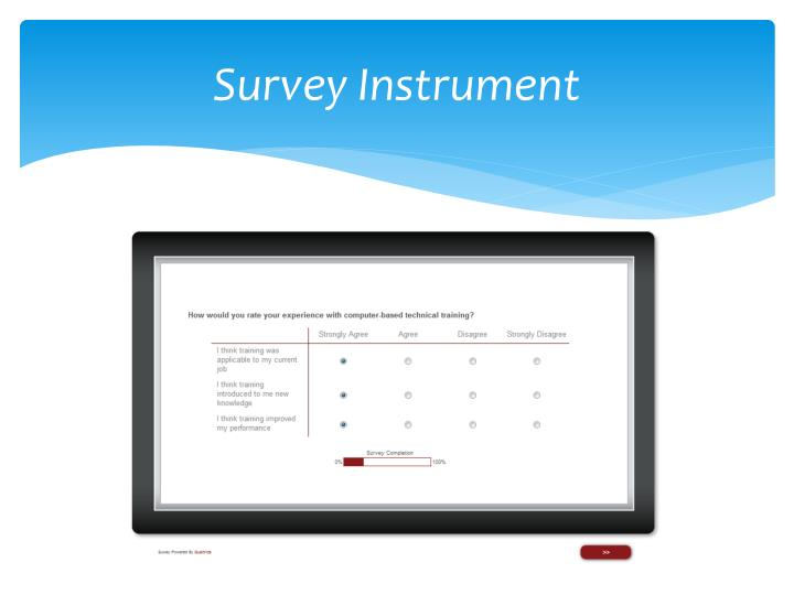 Survey Instrument