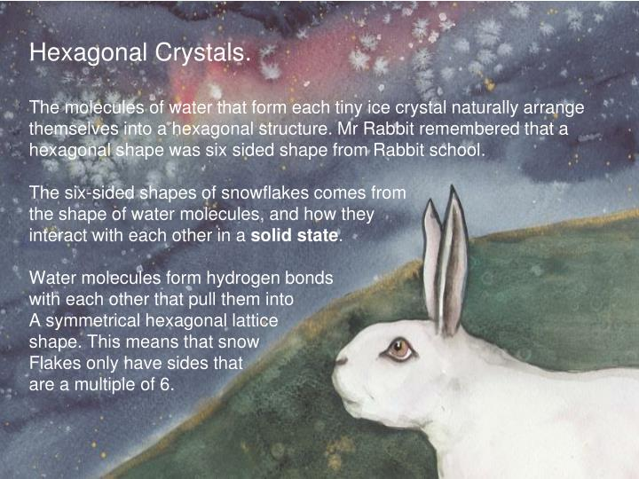 Hexagonal Crystals