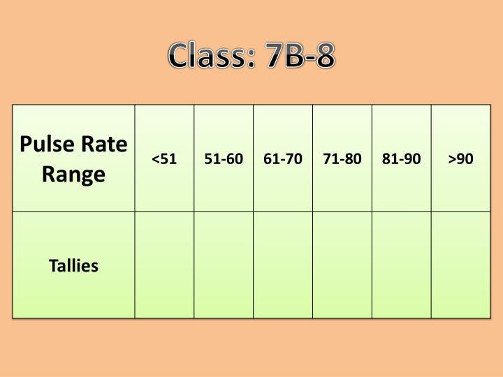 Class: 7B-8
