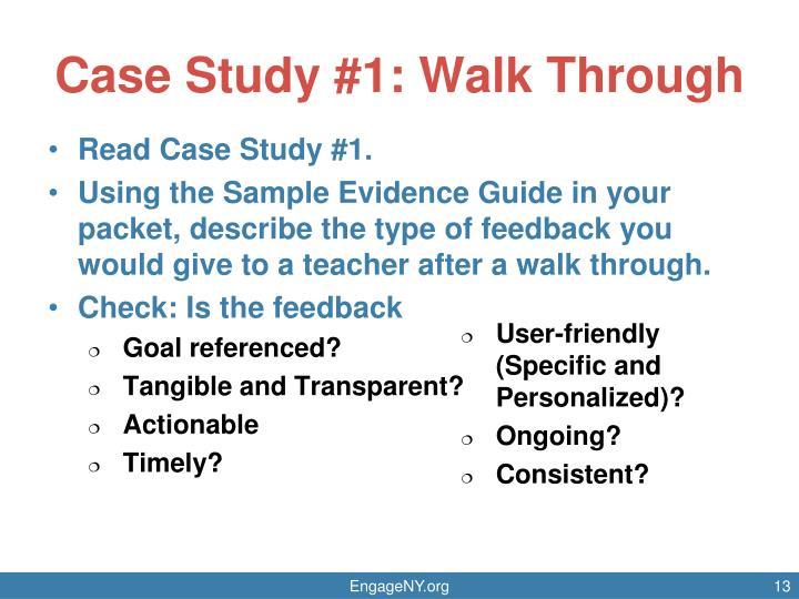 Case Study #1: Walk Through