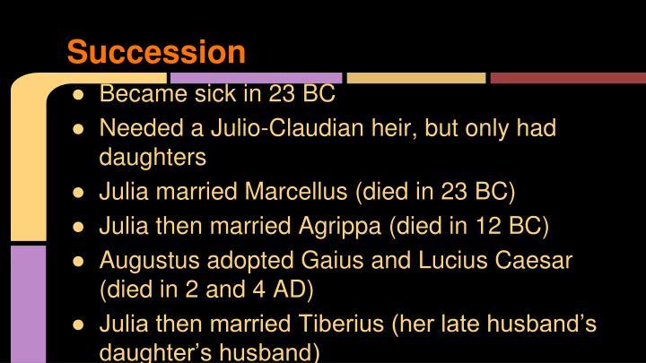 Succession