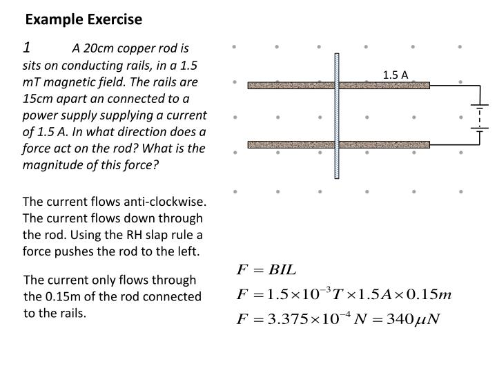 Example Exercise