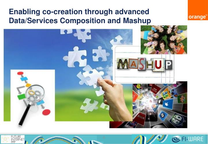 Enabling co-creation through advanced