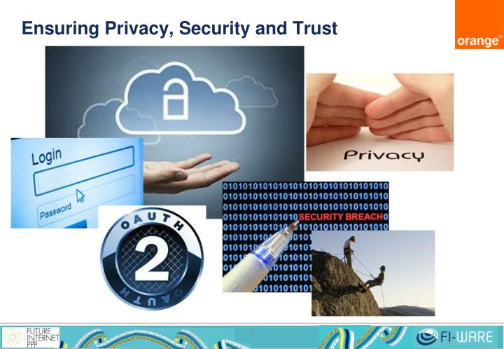 Ensuring Privacy, Security and Trust