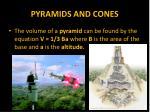 pyramids and cones11