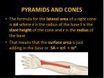 pyramids and cones15