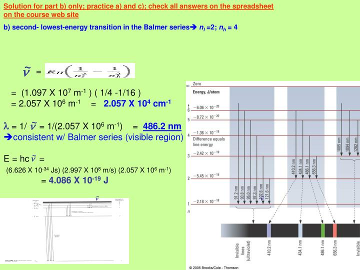 Solution for part b) only; practice a) and c); check all answers on the spreadsheet on the course web site