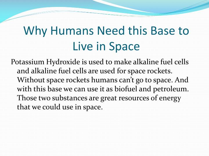 Why Humans Need this Base to Live in Space