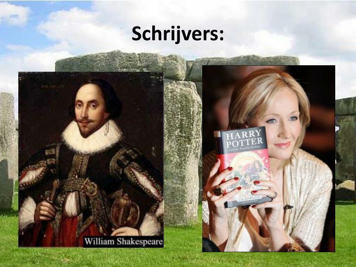 Schrijvers