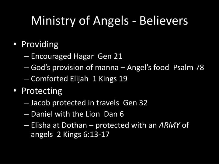 Ministry of Angels - Believers