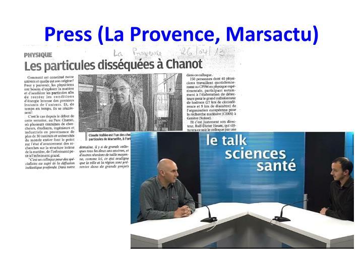 Press (La Provence,