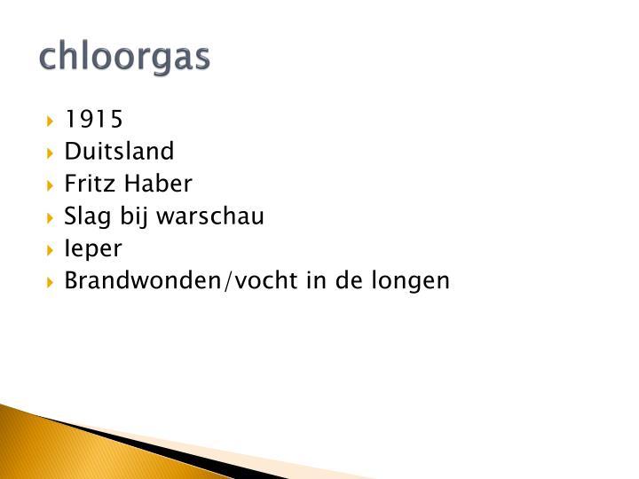chloorgas