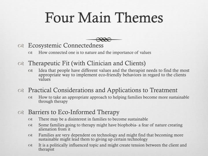 Four Main Themes