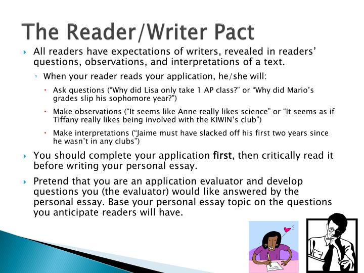 The Reader/Writer Pact