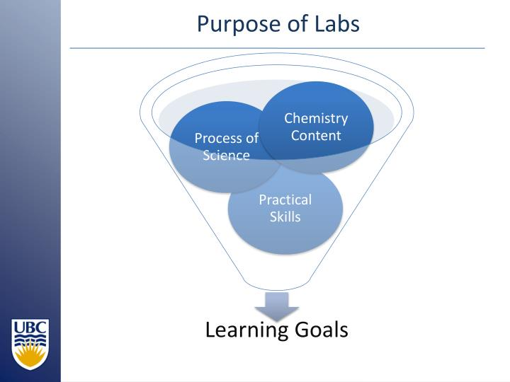 Purpose of Labs