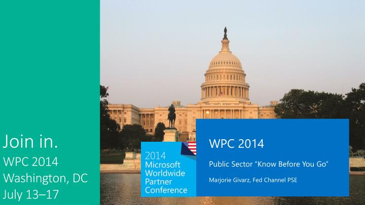 WPC 2014