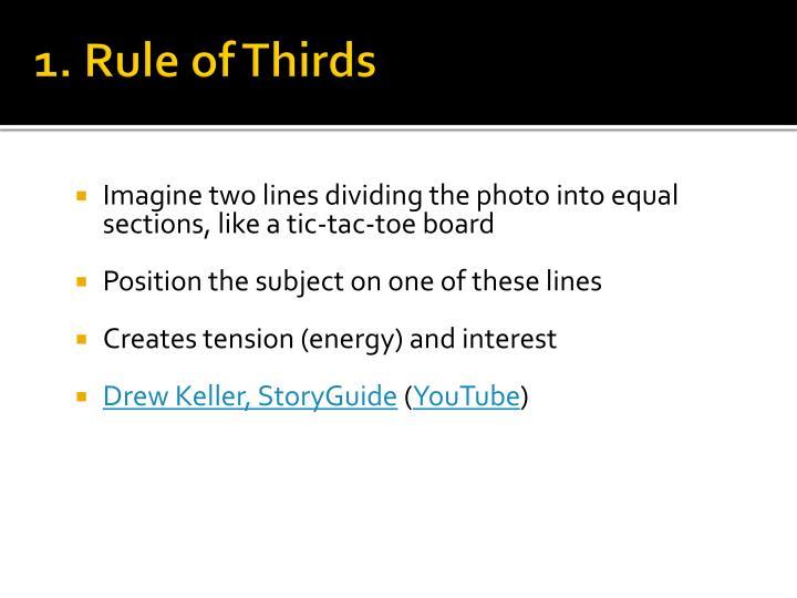 1. Rule of Thirds
