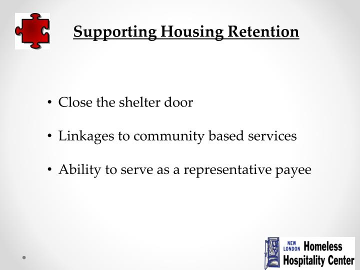 Supporting Housing Retention
