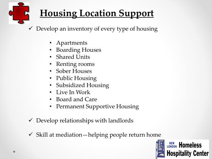 Housing Location Support