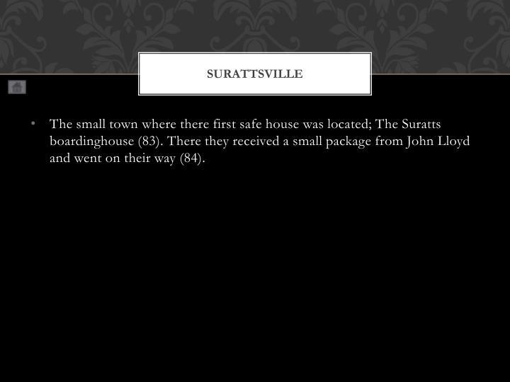 Surattsville