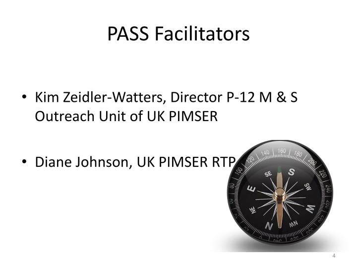 PASS Facilitators