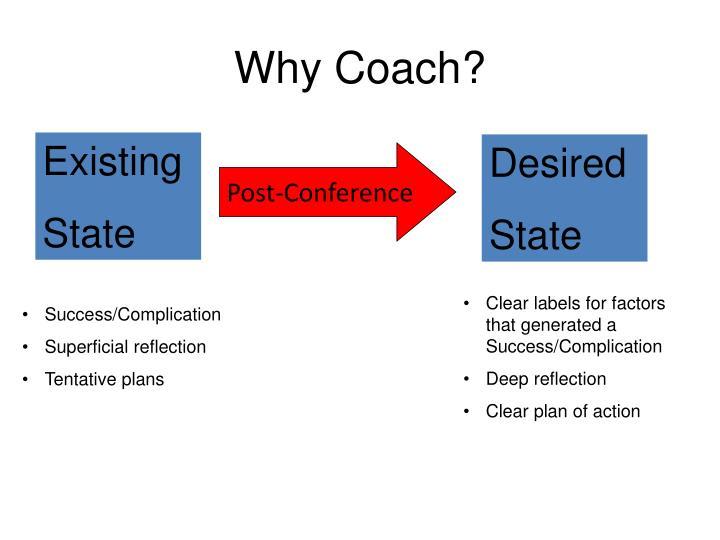 Why Coach?
