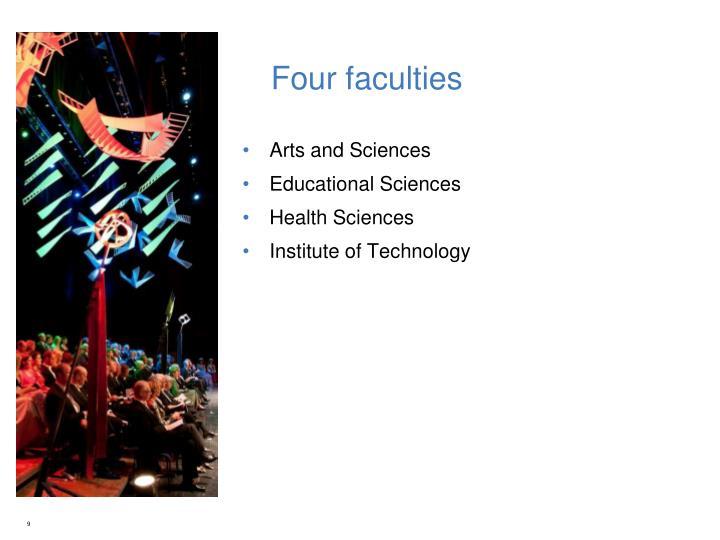 Four faculties