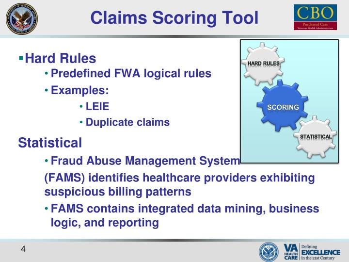 Claims Scoring Tool