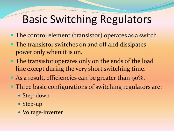 Basic Switching Regulators