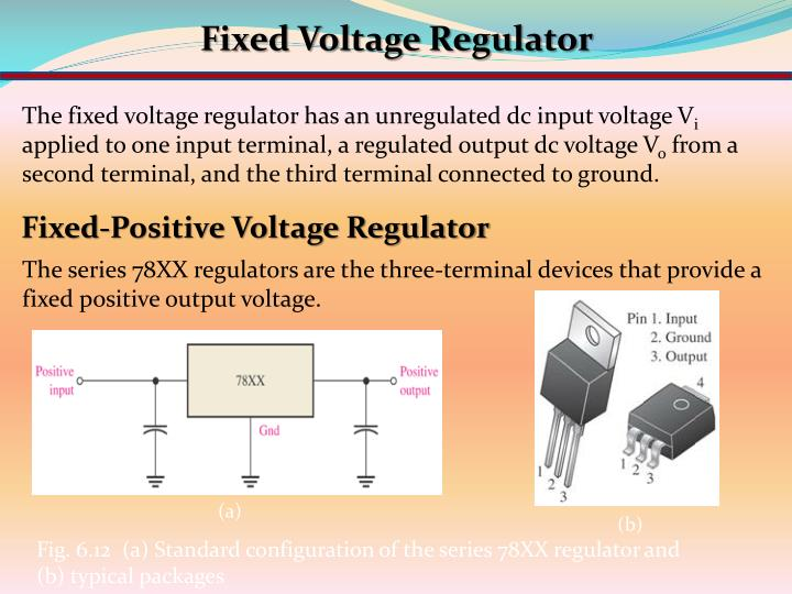 Fixed Voltage Regulator