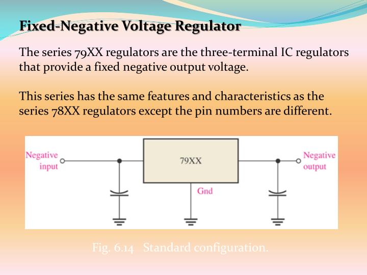 Fixed-Negative Voltage Regulator