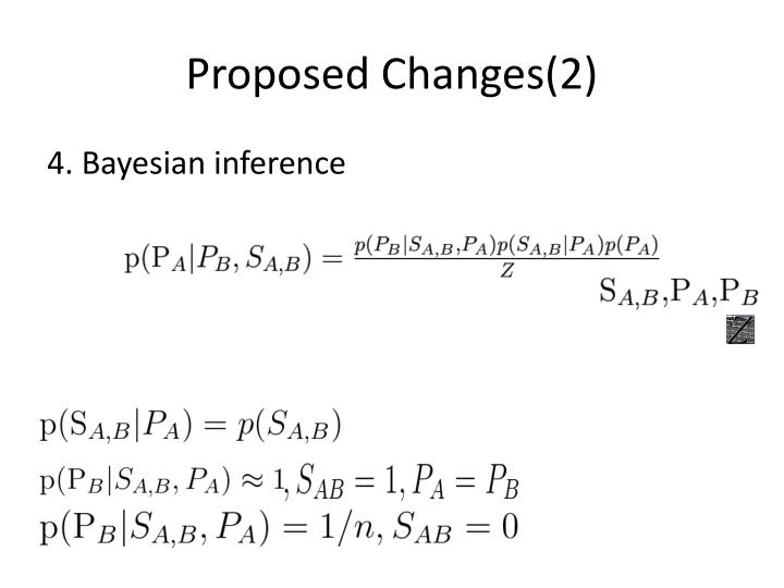 Proposed Changes(2)
