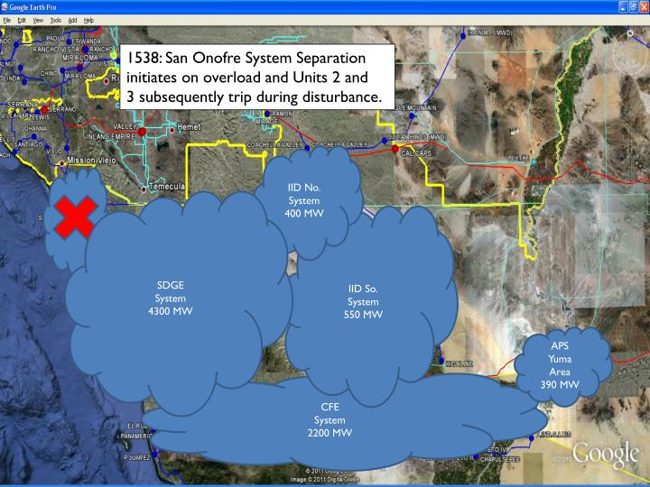 1538: San Onofre System Separation