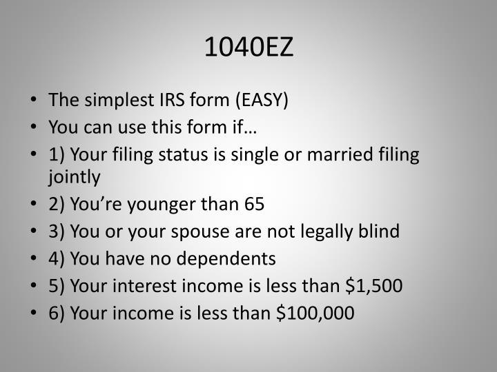1040EZ