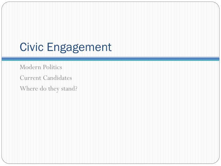Civic Engagement