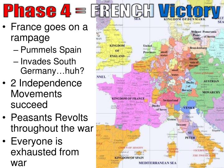 Phase 4 = FRENCH Victory
