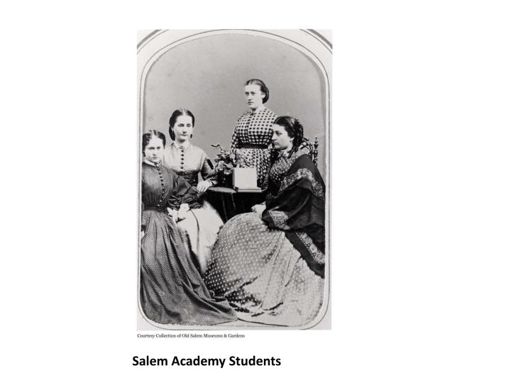 Salem Academy Students