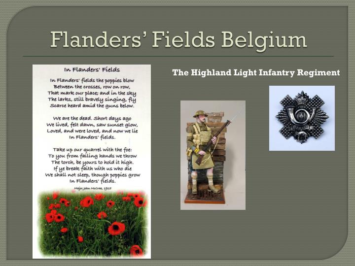 Flanders' Fields Belgium
