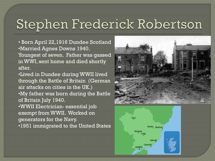 Stephen Frederick Robertson