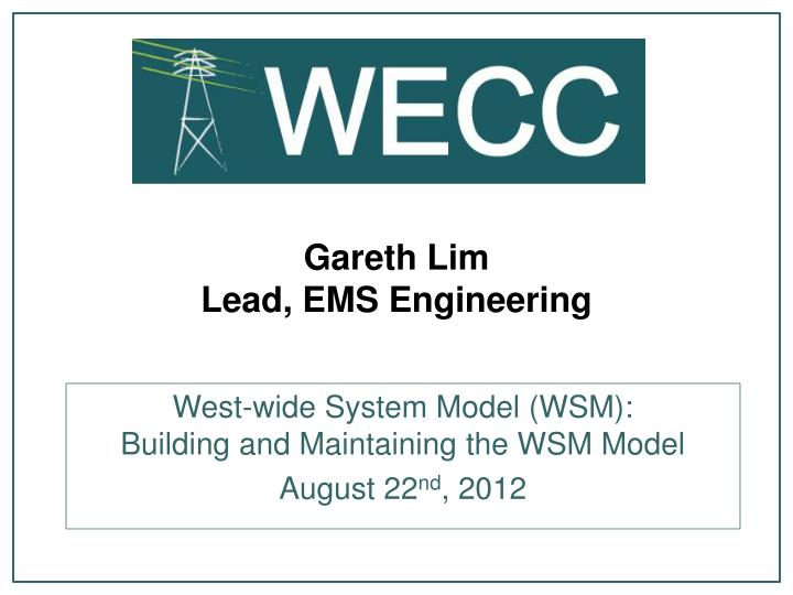 Gareth lim lead ems engineering