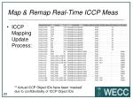 map remap real time iccp meas