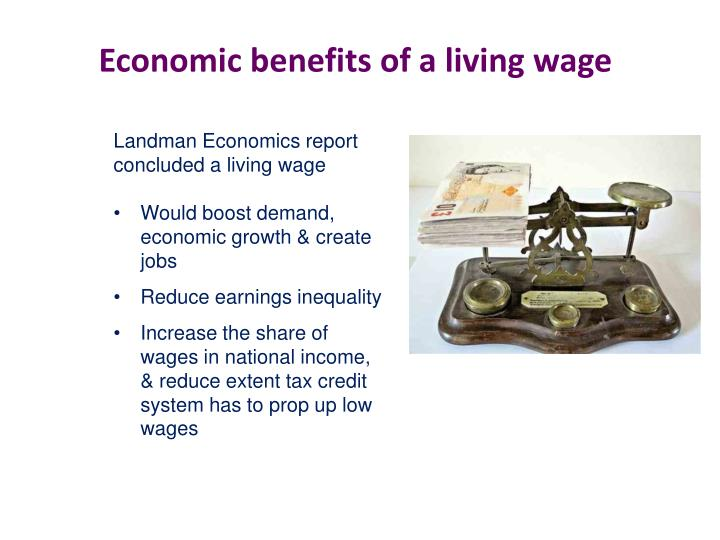 Economic benefits of a living wage
